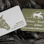 Letterpress Business Card by MAGVA Design + Letterpress